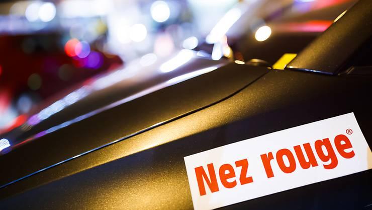 Fremder Chauffeur im eigenen Auto: Nez Rouge bringt im Dezember jeweils Tausende Angesäuselte in ihren eigenen Autos nach Hause.