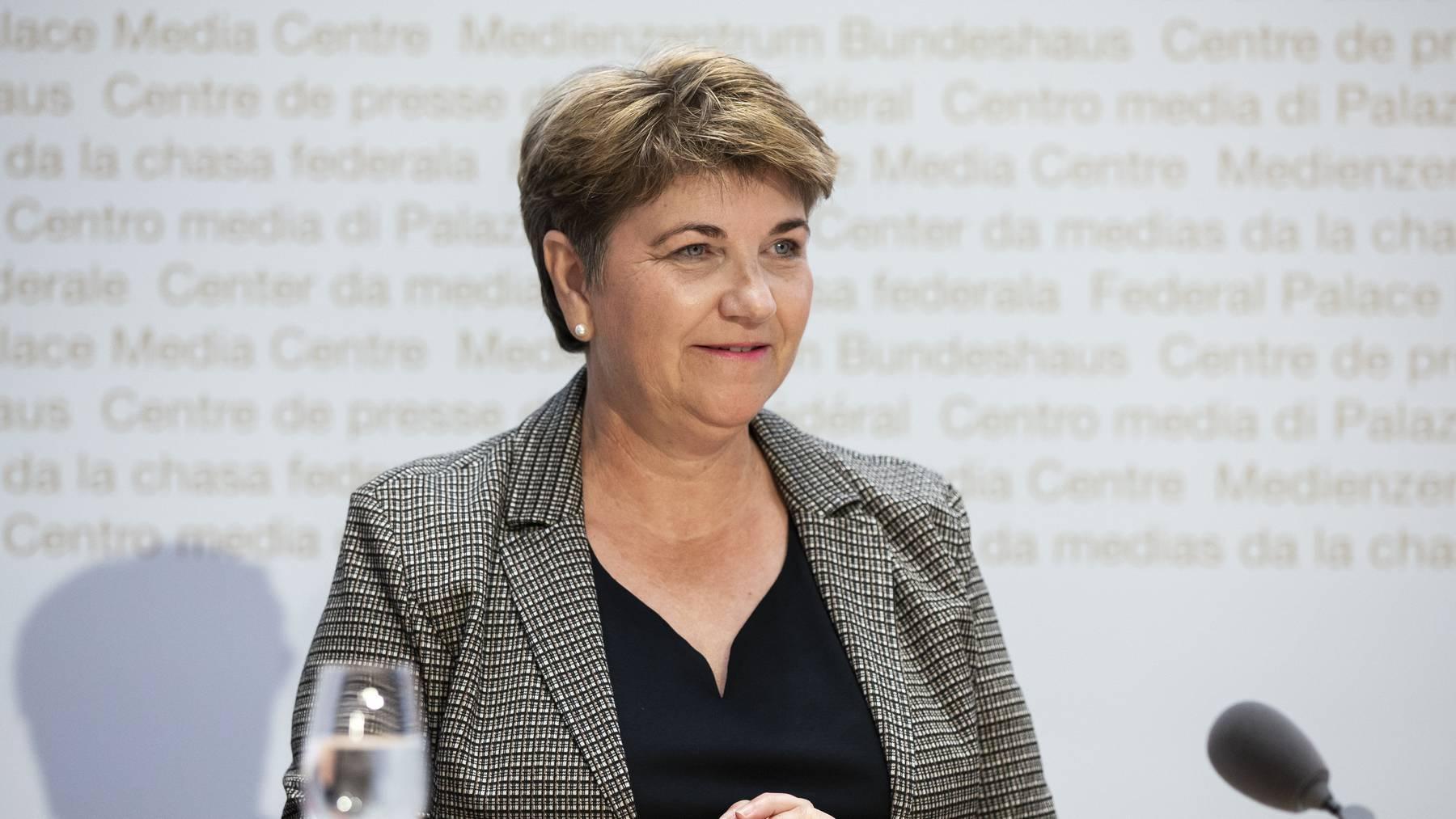 Stand am Ende als Siegerin da: Verteidigungsministerin Viola Amherd. (Symbolbild)