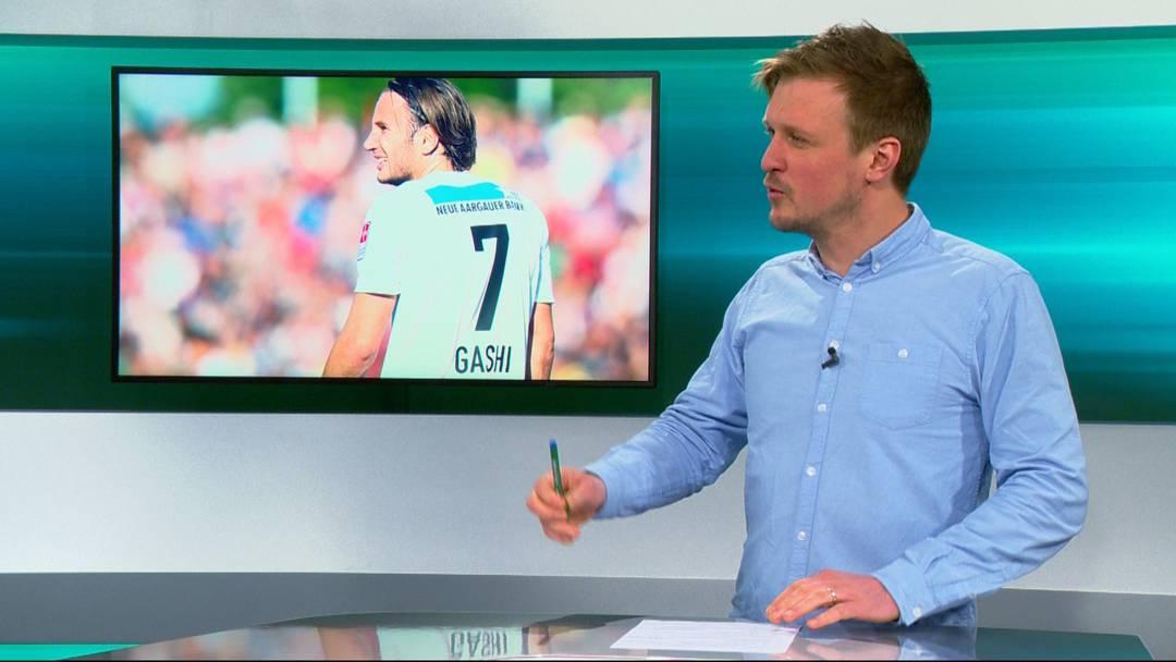 Transferbombe: «Gemäss meinen Infos hat Gashi beim FC Aarau bis 2023 unterschrieben»