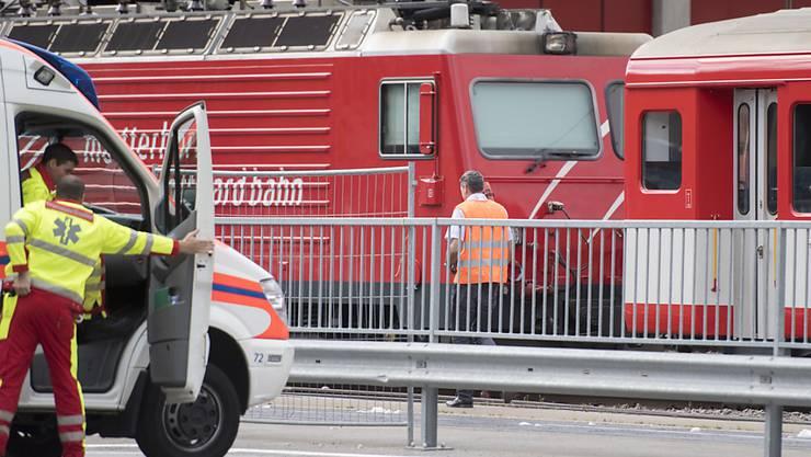 Beim Bahnunglück in Andermatt vom 11. September wurden 35 Personen leicht verletzt.