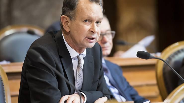 Das Konzept des Ständerats zur Umsetzung der Masseneinwanderungsinitiative stammt von Philipp Mülller (FDP/AG).