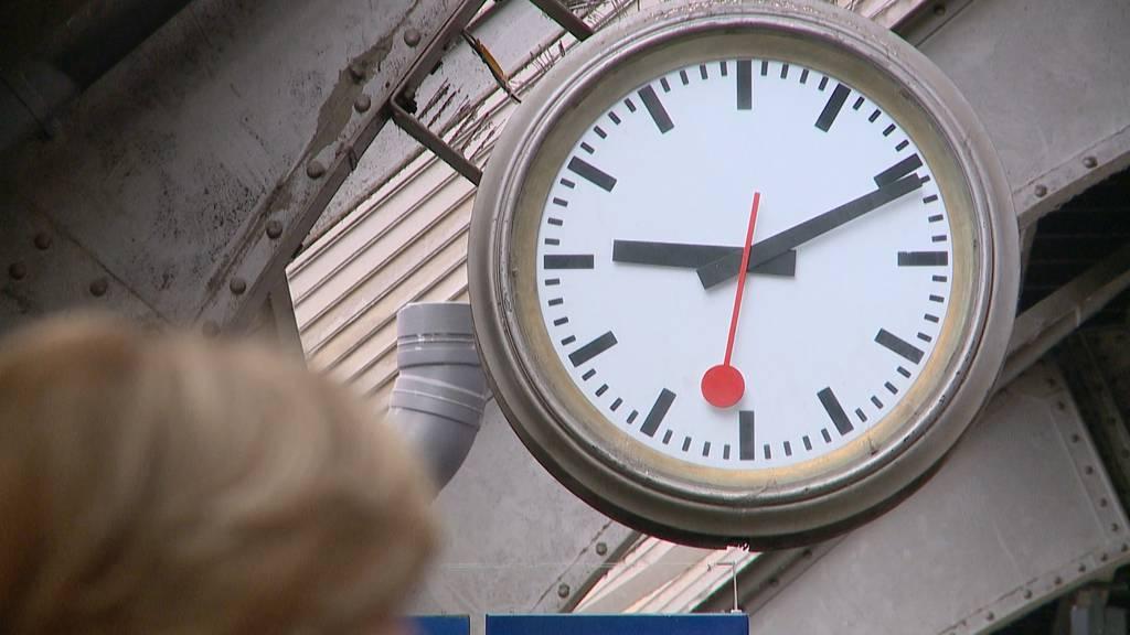 SBB wollen wieder pünktlicher werden