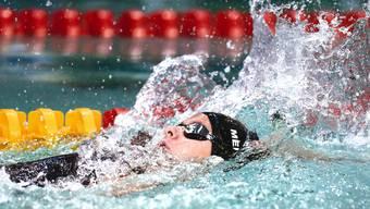 Über 200m Rücken zeigte sich Nora Meister vom Schwimmclub Aarefisch, Aarau, in blendender Form.