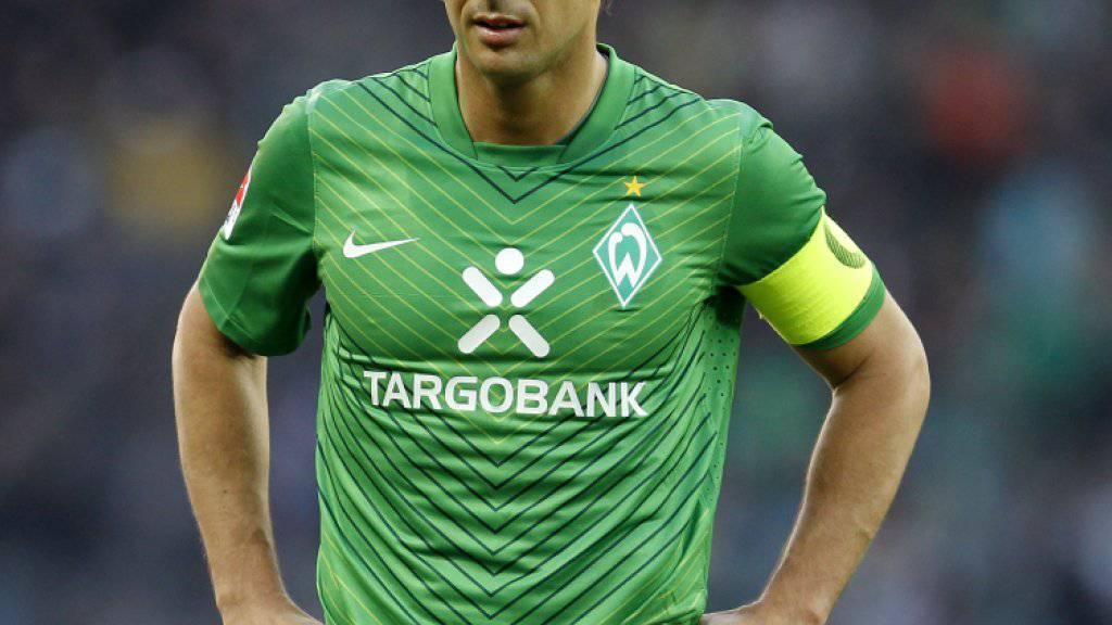 Claudio Pizarro wieder bei Werder - Rückkehr des einstigen Captains
