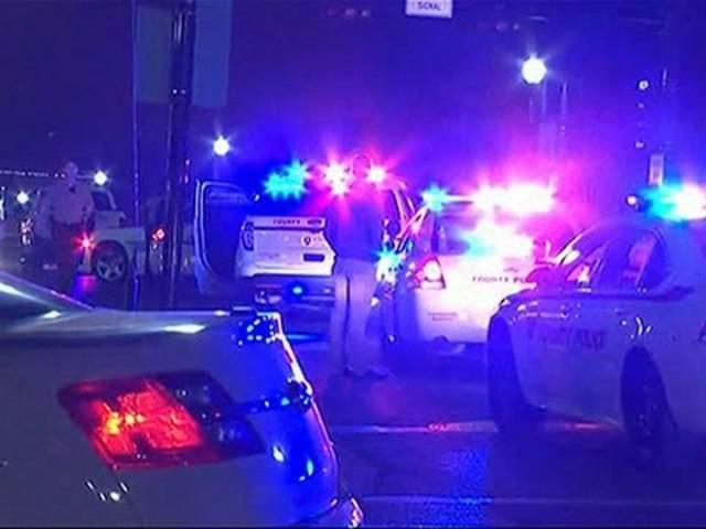 Die beiden Beamten wurden im Verlaufe von Protesten vor der Polizeiwache von Ferguson durch Schüsse schwer verletzt.