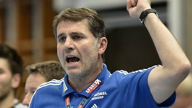 Trainer Martin Rubin will mit Wacker den ersten Punkt