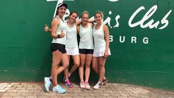 Die Frauen des TC Froburg Trimbach schafften den Aufstieg in die NLC.