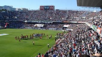 Ein Jahr keine Europacup-Spiele im Estadio La Rosaleda von Malaga