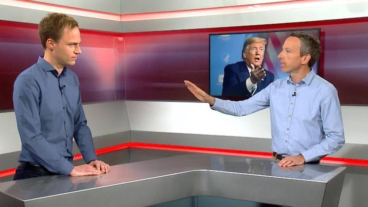 Im neuen US-Wahlen-Talk diskutieren CH Media-Chefredaktor Patrik Müller und Auslandschef Samuel Schumacher über die Präsidentschaftswahlen in den Vereinigten Staaten.
