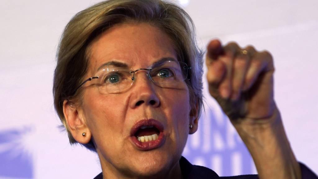 Elizabeth Warren zieht in Umfragen erstmals an Biden vorbei