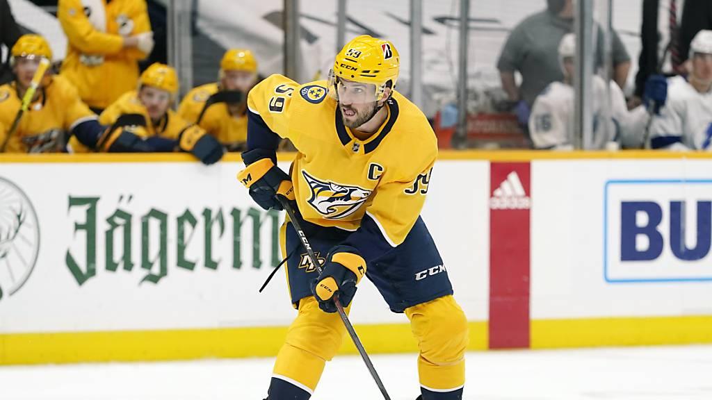 Volle Konzentration auf die K.o.-Phase: Nashville-Captain Roman Josi greift mit seinem Team in der Nacht auf Dienstag erstmals in die NHL-Playoffs ein