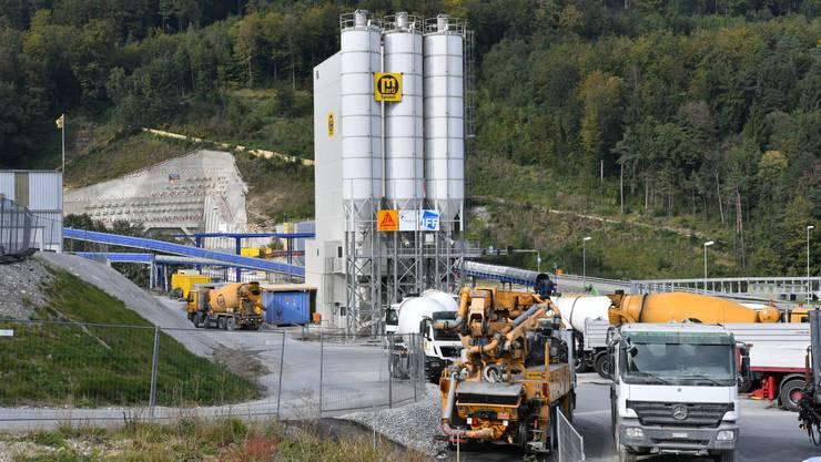 Der Belchentunnel hat die Kantonsgrenze Solothurn-Basel-Landschaft erreicht