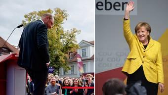 Angela Merkel bleibt wohl Kanzlerin – Martin Schulz hats mindestens versucht.