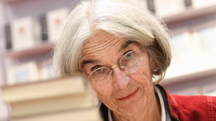 Nimmt kein Blatt vor den Mund: Autorin und Demokratin Donna Leon in Frankfurt.