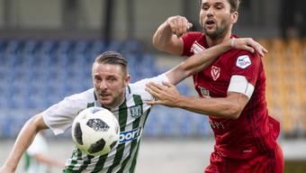 Routinier Philipp Muntwiler steuert einen Treffer zur Wende von Vaduz bei