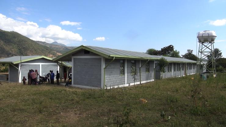 Krankenstation Danbile, 21 Räume
