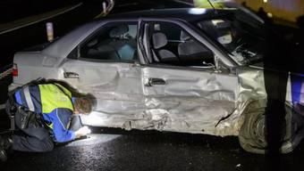 Die Autos sollten möglichst stark beschädigt werden (Symbolbild)