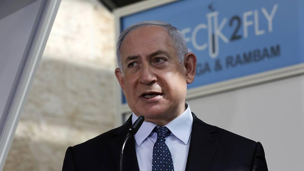Benjamin Netanjahu, Israels Ministerpräsident, ist nach israelischen Medienberichten heimlich nach Saudi-Arabien gereist.
