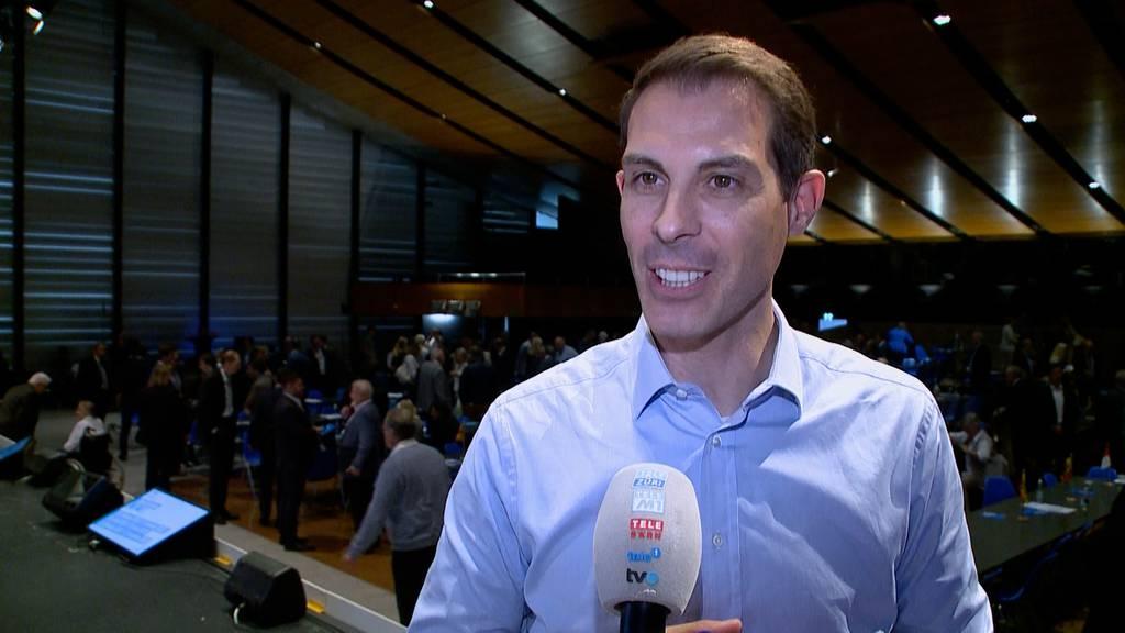 Glanzresultat: Thierry Burkart ist der neue FDP-Präsident