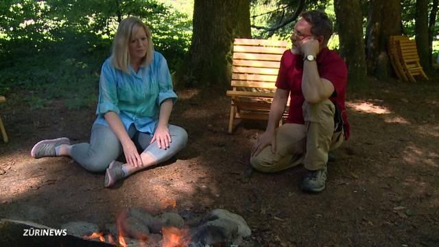 Freiluft-Psychotherapie im Wald