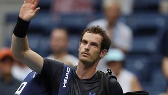 Andy Murray verabschiedet sich für diese Saison von seinen Fans