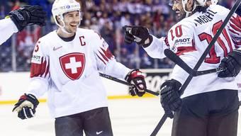 """Das """"C"""" auf der Brust: Raphael Diaz hätte das Schweizer Nationalteam an der Heim-WM in Zürich und Lausanne als Captain angeführt"""