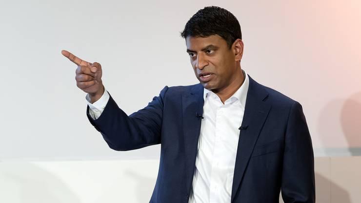 In der Forschung erleidet der allergrösste Teil der Projekte Schiffbruch: Vas Narasimhan über das Scheitern bei Novartis.