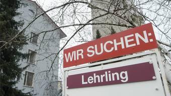 Im Kanton Solothurn bleiben jährlich 300 Lehrstellen unbesetzt. (Symbolbild)