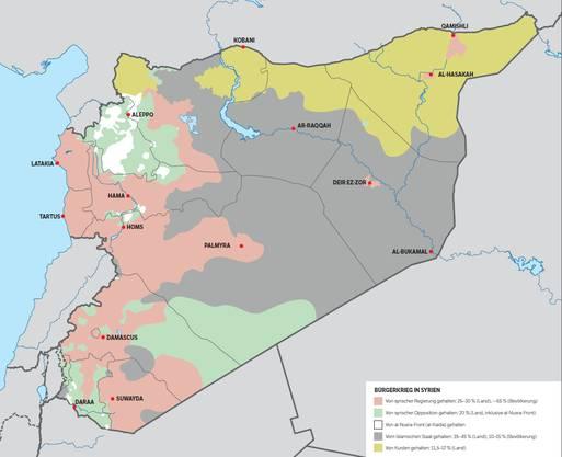 Syrien - wer gegen wen kämpft