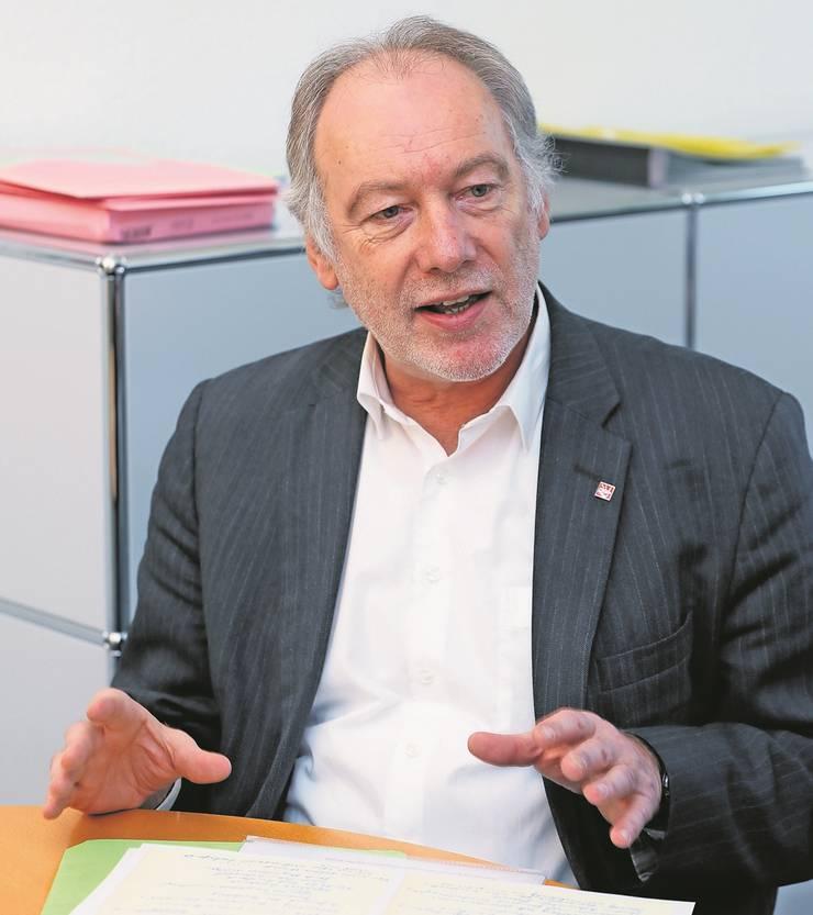 Thomas Hardegger, SP-Nationalrat und Gemeindepräsident von Rümlang.