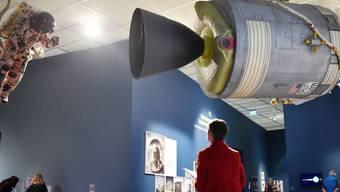 """Die Ausstellung """"Fly me to the Moon"""" im Kunsthaus Zürich dauert vom 4. April bis 30. Juni."""