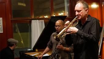 Bandleader Daniel Schenker (r.) und seine «All Star»-Formation. Peter Hunziker