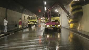 Gubristtunnel-Reinigung