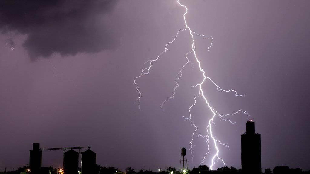 Gewitter in den USA haben im ersten Halbjahr die grössten Schäden angerichtet. (Symbolbild)