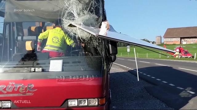 Glück im Unglück: Car-Chauffeur wurde fast geköpft