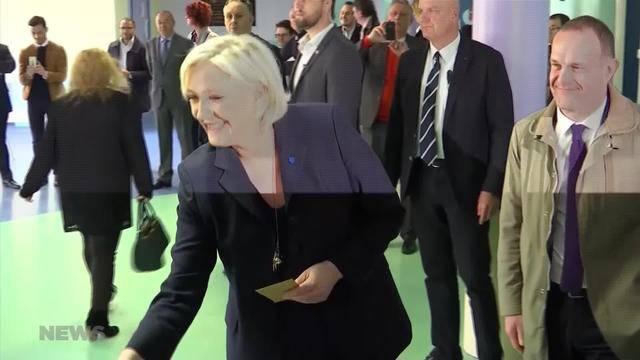 Wer wird neues Oberhaupt Frankreichs?