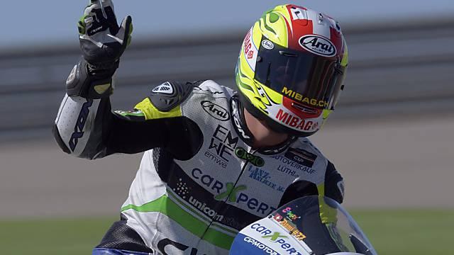 Dominique Aegerter war schnellster Moto2-Schweizer.