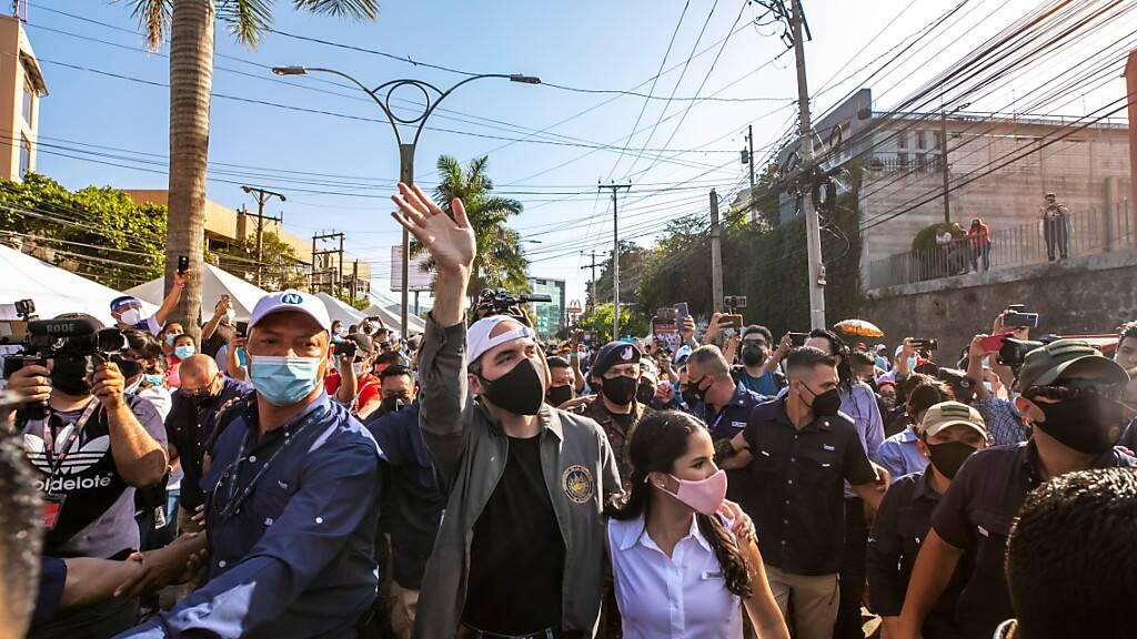 Präsidentenpartei in El Salvador wird aus dem Stand stärkste Kraft