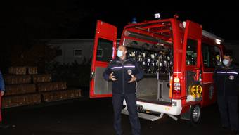 Der Bettlacher Feuerwehrkommandant Patrik Gfeller.
