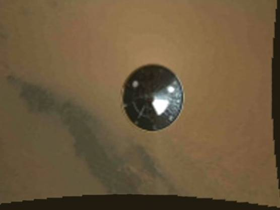 Die ersten Fotos vom Mars