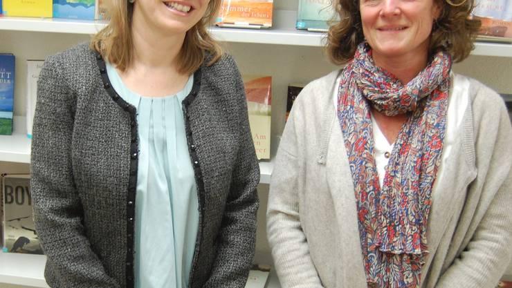 Barbara Brennwald und Marie-Claire Bitz leiten die Lenzburger Volkshochschule. Heiner Halder