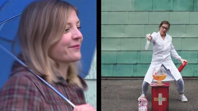 Florence Metz tanzt ihre Doktorarbeit