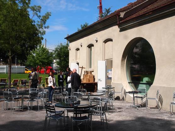 Die neue Kultur Bar «Zum Kuss» hat dort ihr Zuhause gefunden