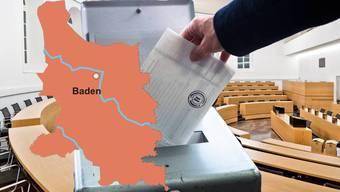Die Stimmbürger aus dem Bezirk Baden haben am Sonntag gewählt.