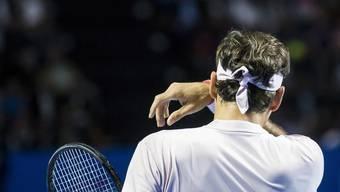 Roger Federer hatte zu wenig Zeit um mit allen zu reden.