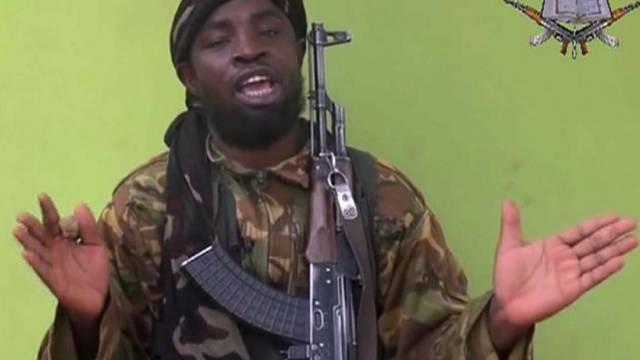 Boko-Haram-Anführer Abubakar Shekau in der Videobotschaft