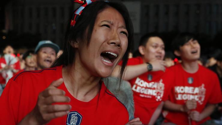 Der Ball rollt zwar wieder, aber noch dürfen die Fussballfans in Südkorea nicht in die Stadien