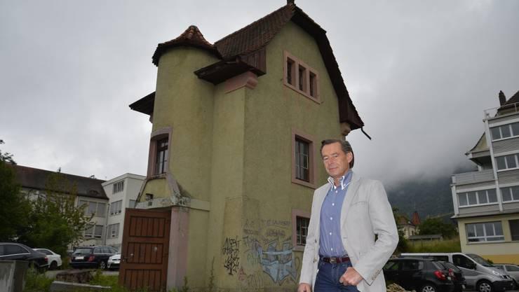 Der neue Besitzer des Zaubertürmlis, Kurt Brunner