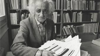 Fichenkönig: Der Buchhändler Theo Pinkus erhielt im April 1991 ein Paket mit 252 Fichen. Keystone / ZVG Zentralbibliothek Zürich