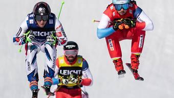 Ryan Regez (rechts) ist der Mann der Stunde im Skicross